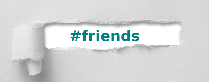 best hashtags for friends